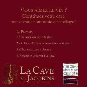 Ma cave chez mon caviste - Cave des Jacobins - Scanwine